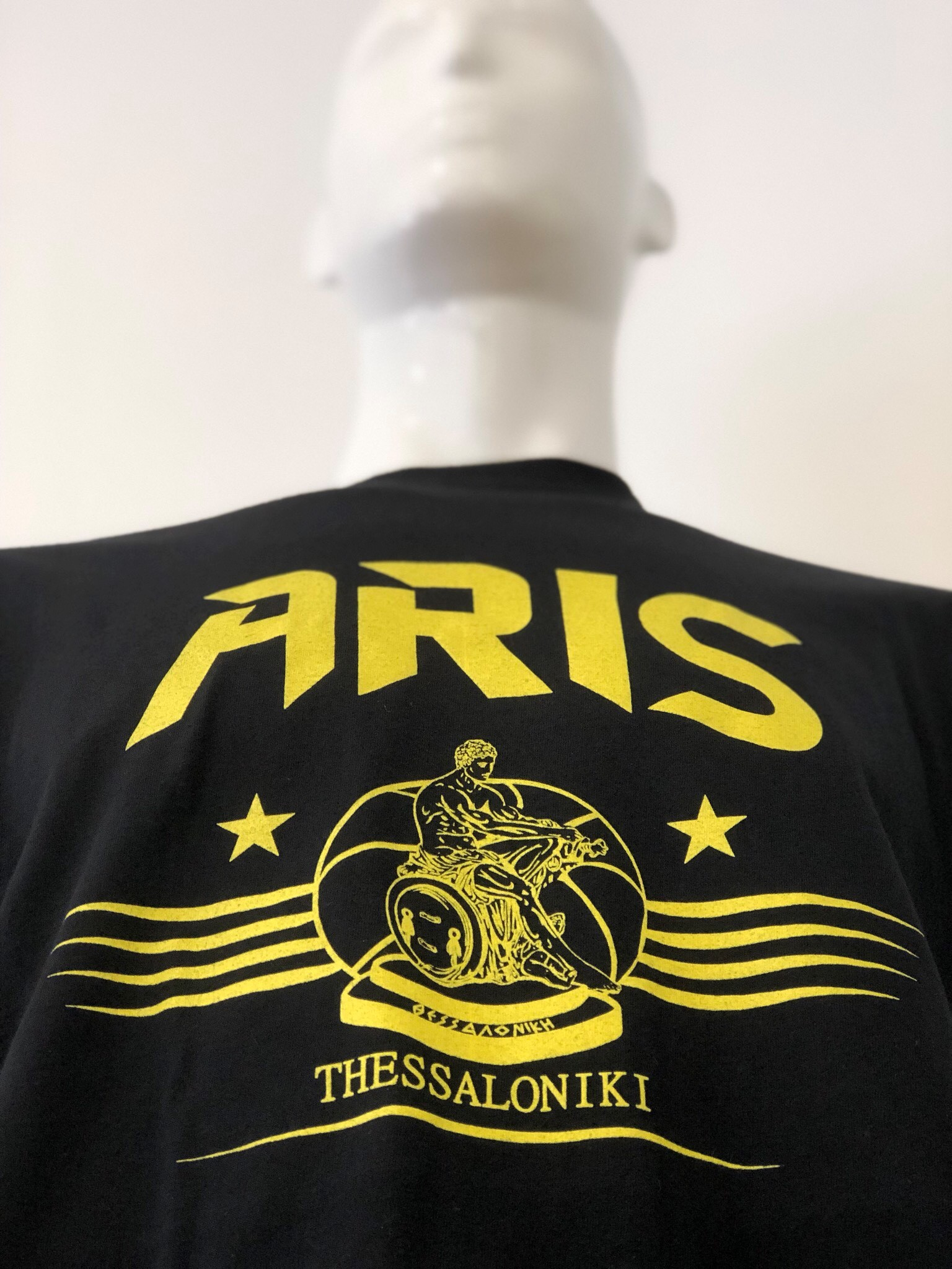 T-shirt ARIS THESSALONIKI BLACK